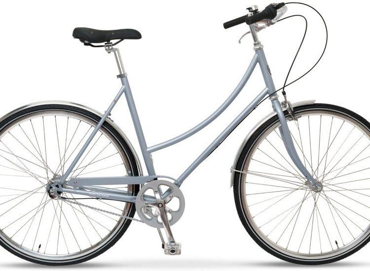 Style Skovcykel Grå 3 Gear Dame