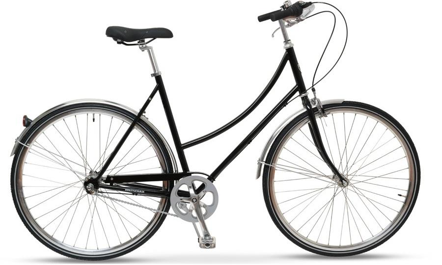 Style Skovcykel Sort 3 Gear Dame