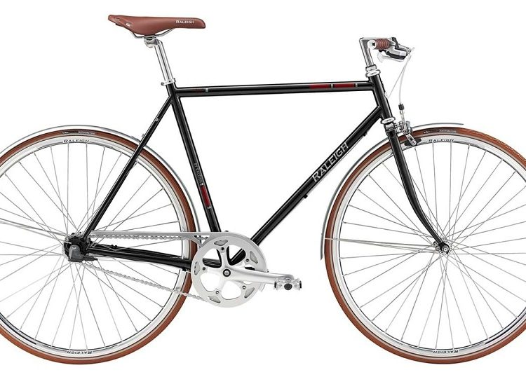 Raleigh Kent Herre Nexus 3g Sort