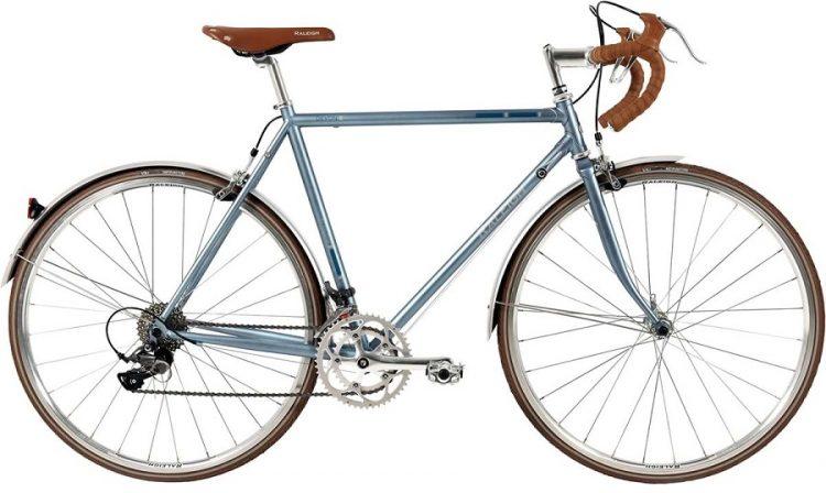 Raleigh Devon Road Herre Blank Lys blå m. blå/sølv