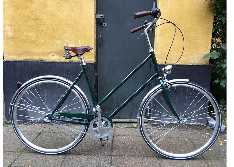 Nunu´s Letvægtscykel dame grøn
