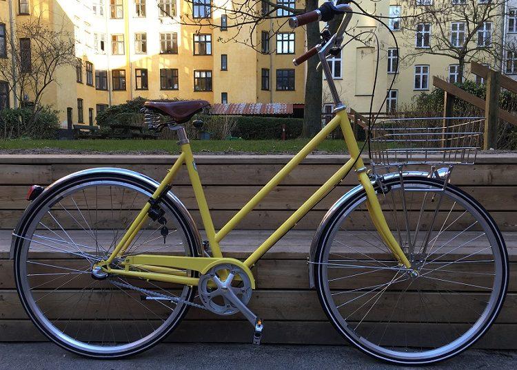 Nunu's Hababa LTD LETVÆGTCYKEL Guld