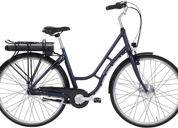 Raleigh Darlington ELcykel 5 LED RØD 2021